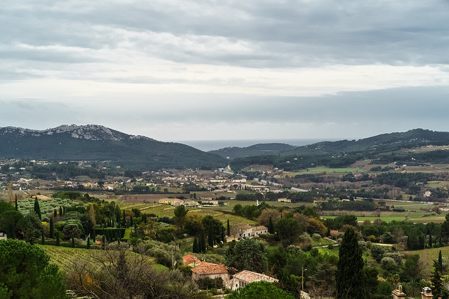 An overview of the Bandol appellation. ©Martin/@ x1klima. Flickr user. Licensed via Creative Commons.