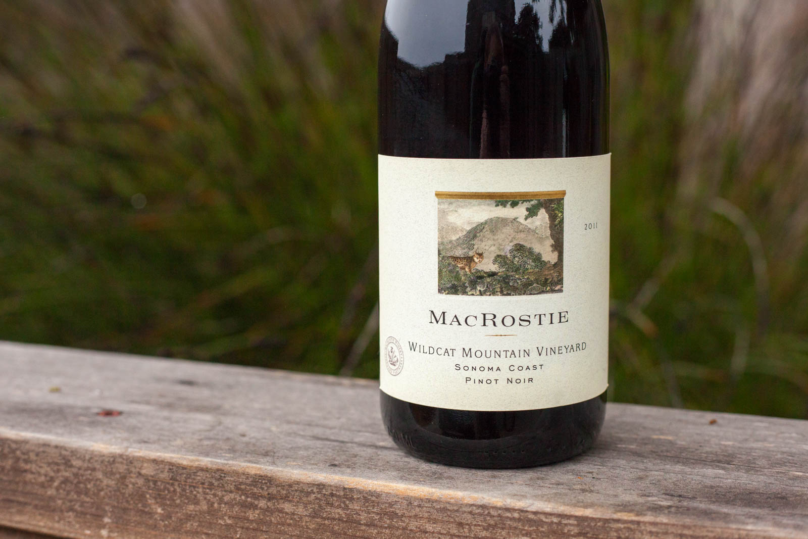 2011 MacRostie Winery Wildcat Vineyard Pinot Noir