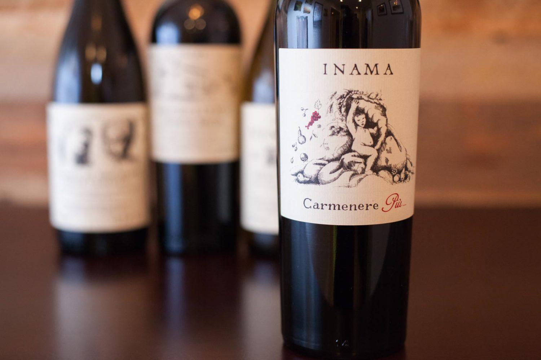 Inama Carmenérè Italian wine ©Kevin Day / Opening a Bottle