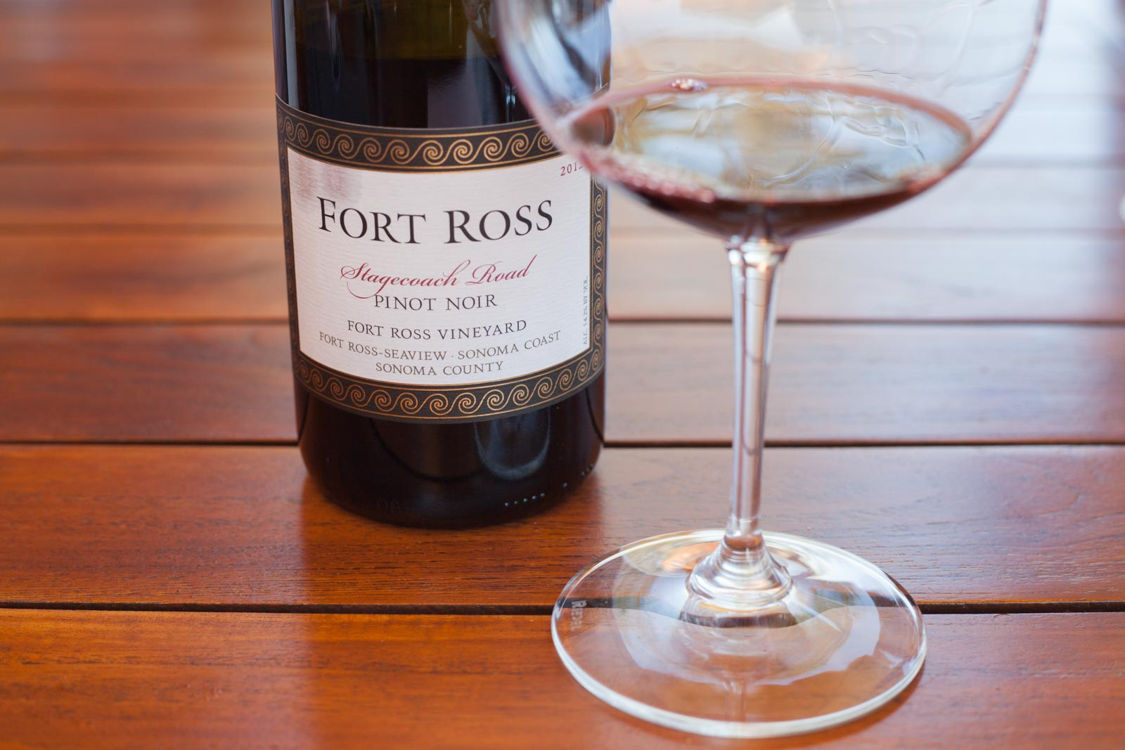 2012 Fort Ross Vineyard Stagecoach Road Pinot Noir. ©Kevin Day/Opening a Bottle