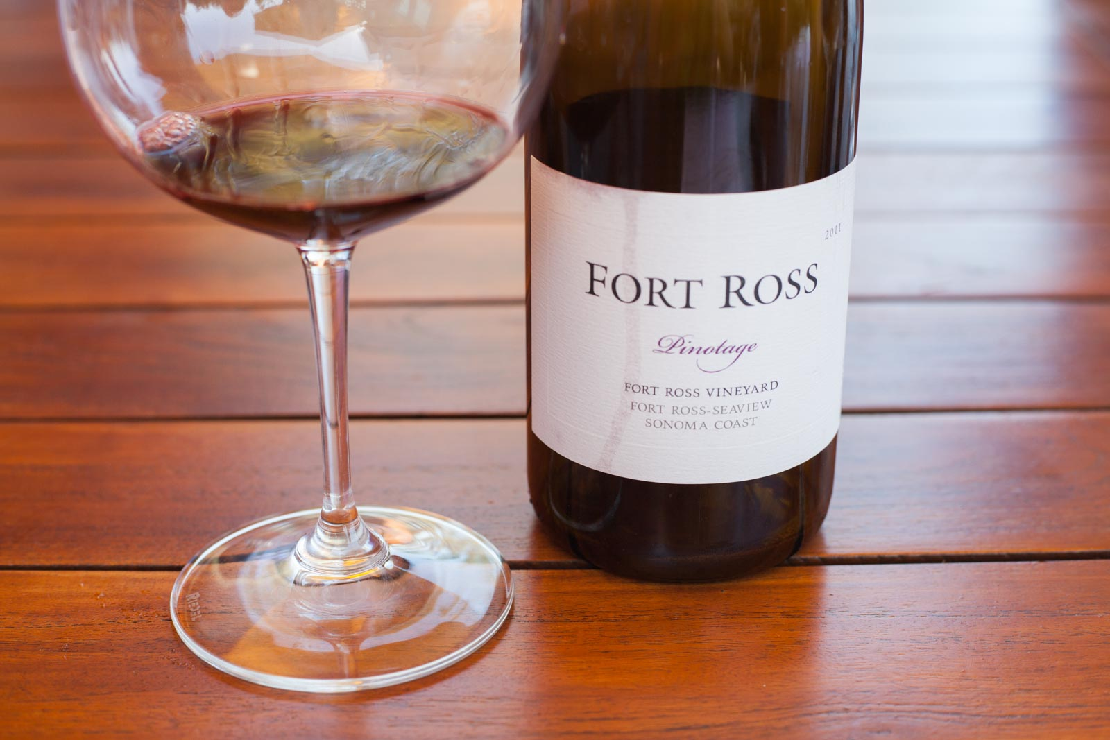 Fort Ross Pinotage ©Kevin Day/Opening a Bottle