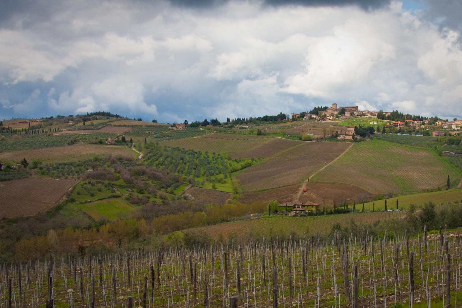 Panzano, Italy in the heart of the Chianti Classico wine region. ©Kevin Day / Opening a Bottle