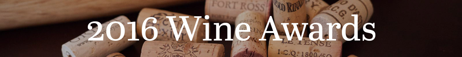 2016 Wine Awards, Opening a Bottle