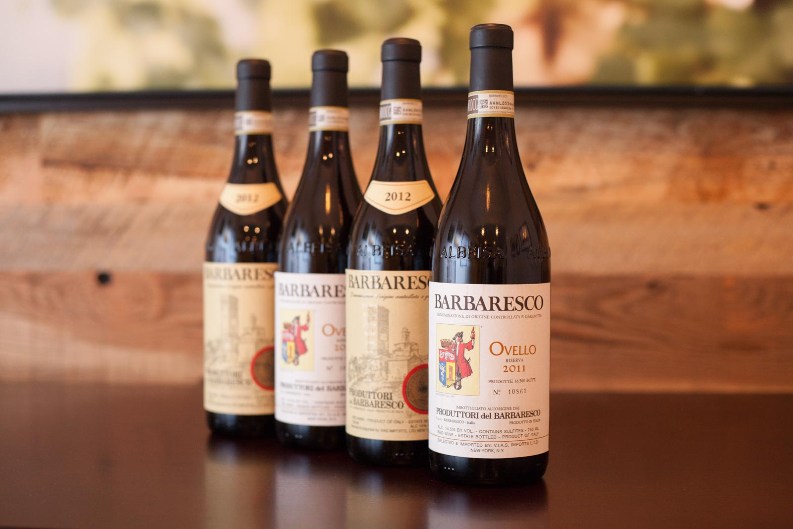 Wines from Produttori dei Barbaresco ©Kevin Day/Opening a Bottle