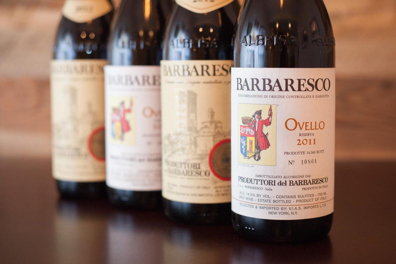 The wines of Produttori del Barbaresco