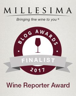 Millesima Wine Reporter Award Finalist 2017