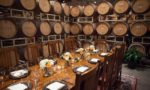 Frank Family Vineyards tasting event in Calistoga, California (Napa)