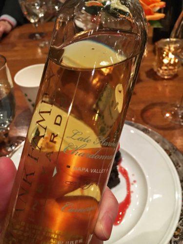 NV Frank Family Vineyards Late-Harvest Chardonnay. ©Kevin Day/Opening a Bottle
