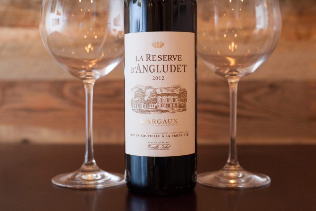 2012 La Reserve d'Angludet Margaux. ©Kevin Day / Opening a Bottle