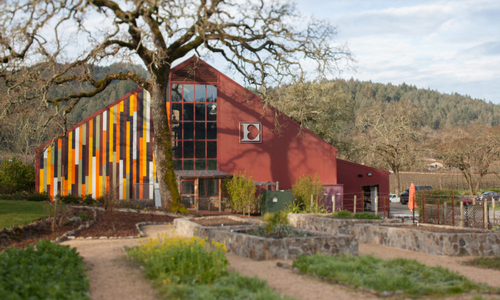 Ehlers Estate Winery in St. Helena, California (Napa Valley). ©Kevin Day / Opening a Bottle