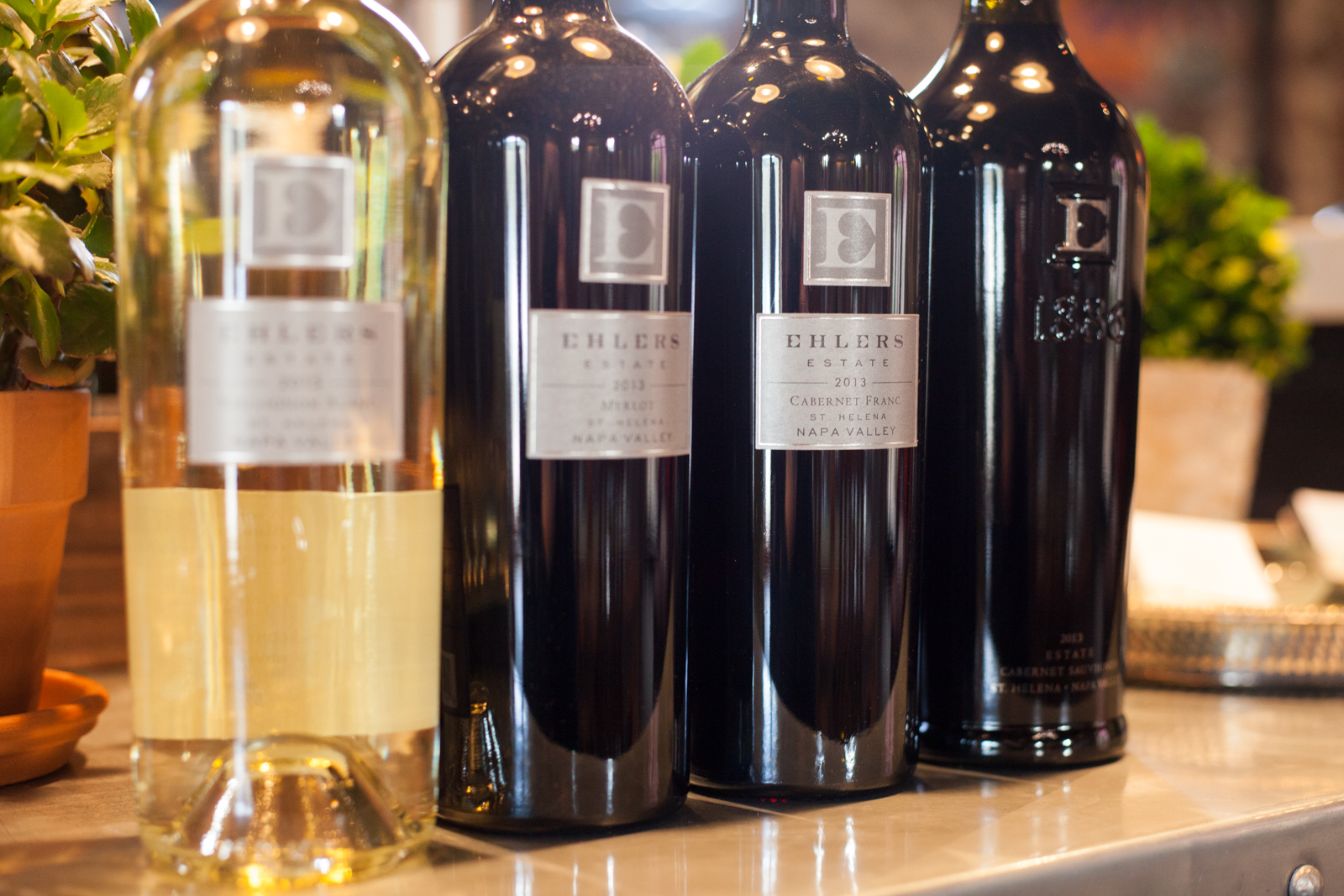 Wines of Ehlers Estate ©Kevin Day/Opening a Bottle