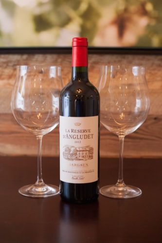 2012 La Reserve d'Angludet Margaux. ©Kevin Day / Opening a Bottle
