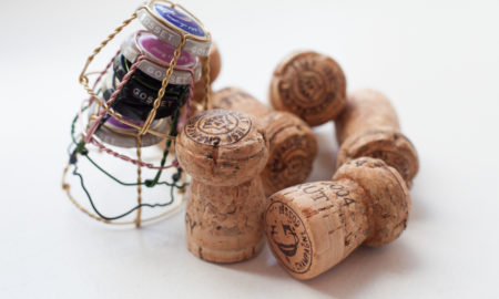 Champagne corks at Champagne Gosset, ©Kevin Day / Opening a Bottle