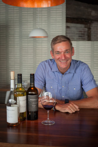Winemaker Robbie Meyer of Murrieta's Well. ©Kevin Day / Opening a Bottle