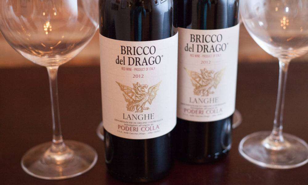 2012 Poderi Colla Bricco del Drago Langhe. ©Kevin Day/Opening a Bottle