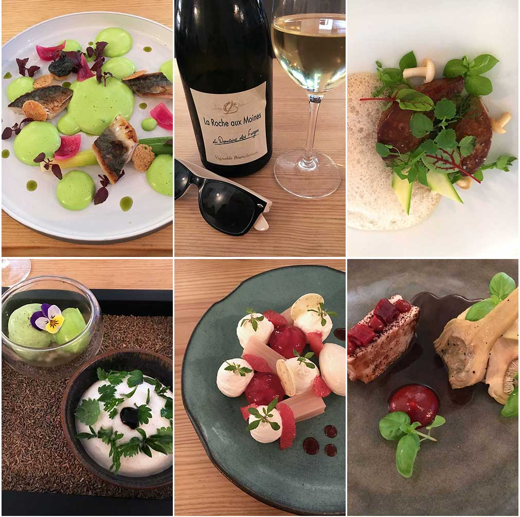 Various goodies served over dinner at Côté Rue. ©Kevin Day/Opening a Bottle