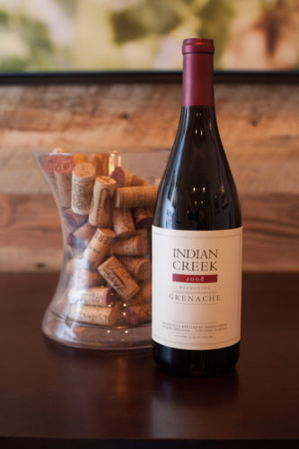 2008 Indian Creek Grenache. ©Kevin Day / Opening a Bottle
