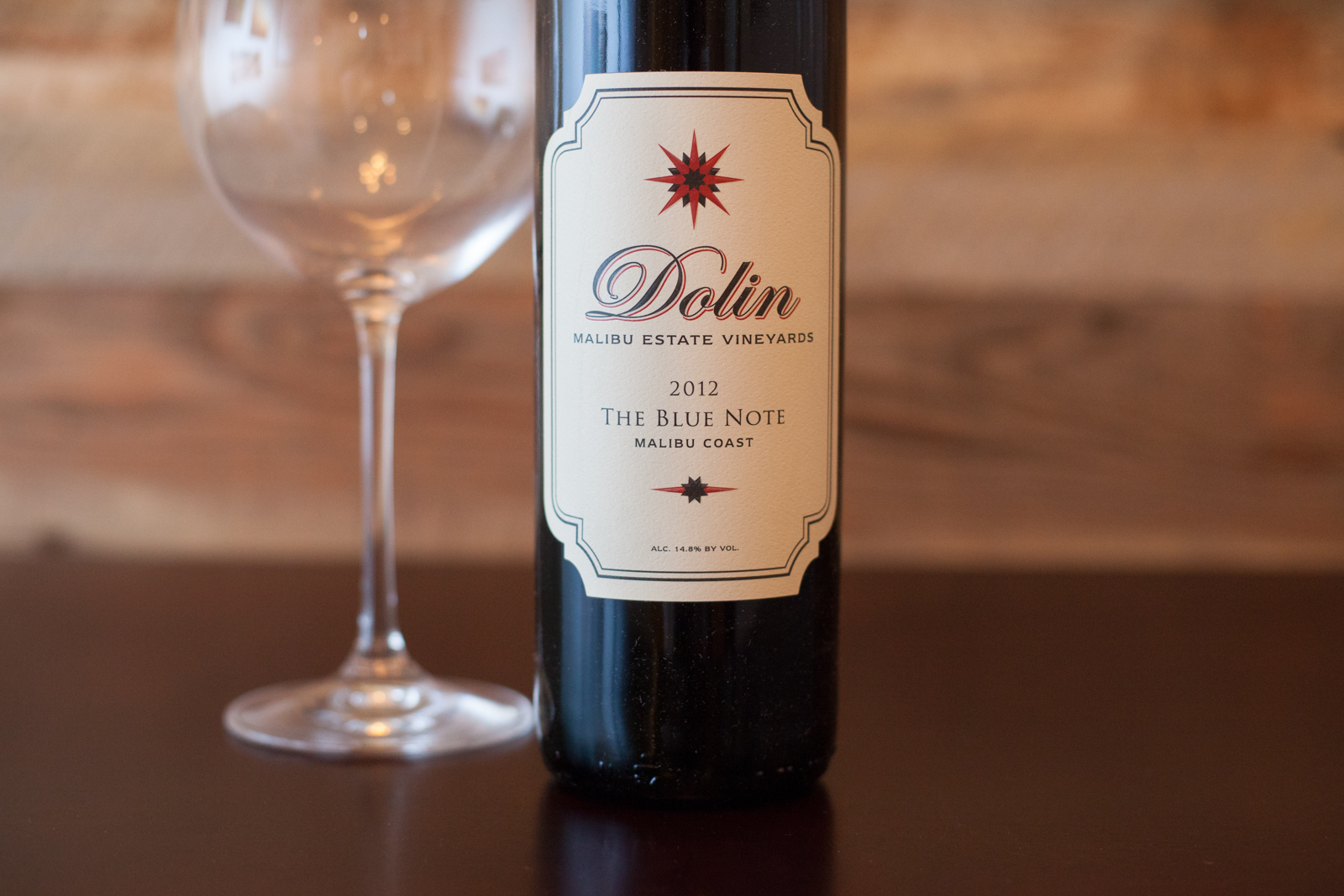 "2012 Dolin Estates ""The Blue Note."" ©Kevin Day/Opening a Bottle"