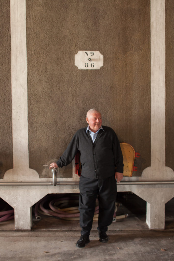 Portrait of Guy Lhéraud at Cognac Lhéraud. ©Kevin Day/Opening a Bottle. All rights reserved