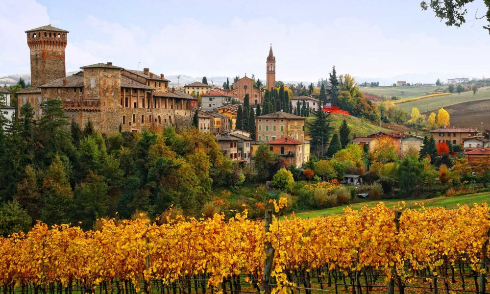 The castle of Levizzano and its village is situated in the heart of the Lambrusco Grasparossa di Castelvetro DOC.