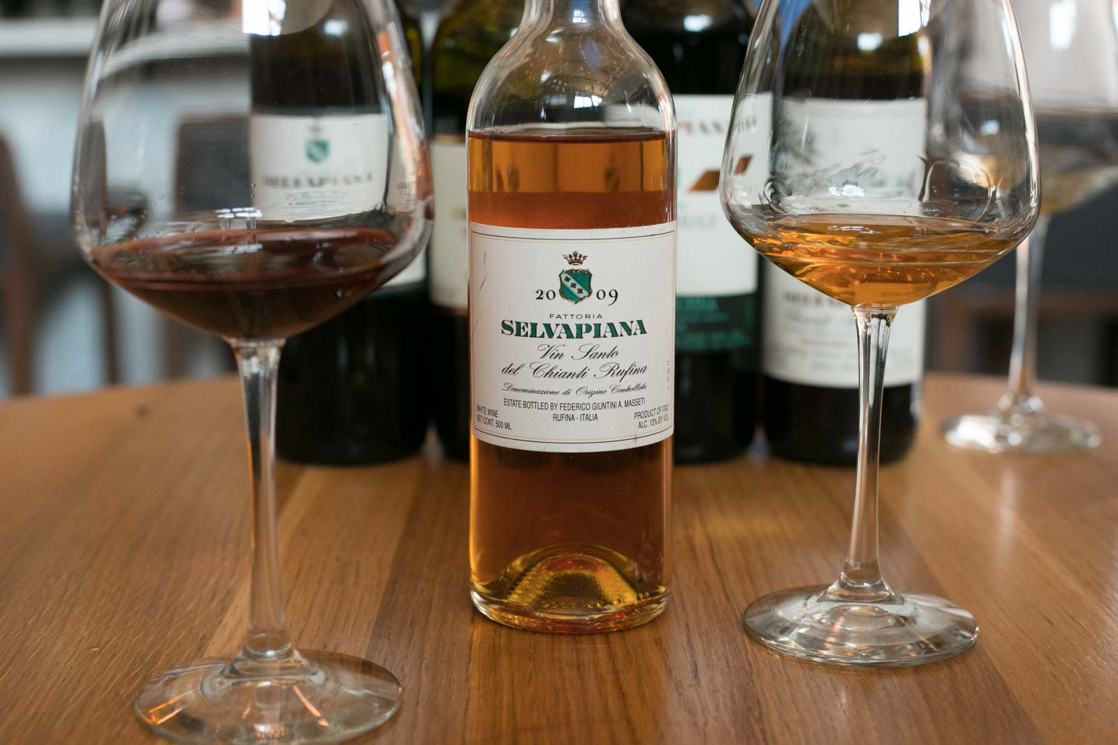 Selvapiana's exquisite Vin Santo. ©Kevin Day / Opening a Bottle