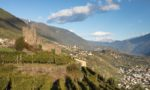 The Grumello Castle above ARPEPE and Valtellina. ©Kevin Day/Opening a Bottle