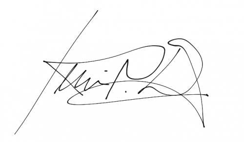 Kevin Day signature