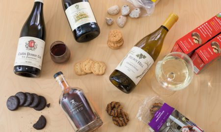 Girl Scout Cookies and Wine ©Kevin Day/Opening a Bottle