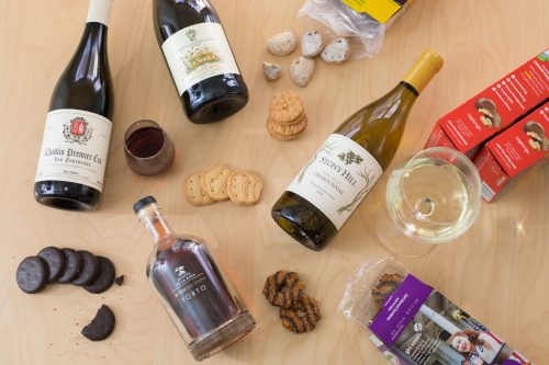 Break That Pairing: Girl Scout Cookies and Wine