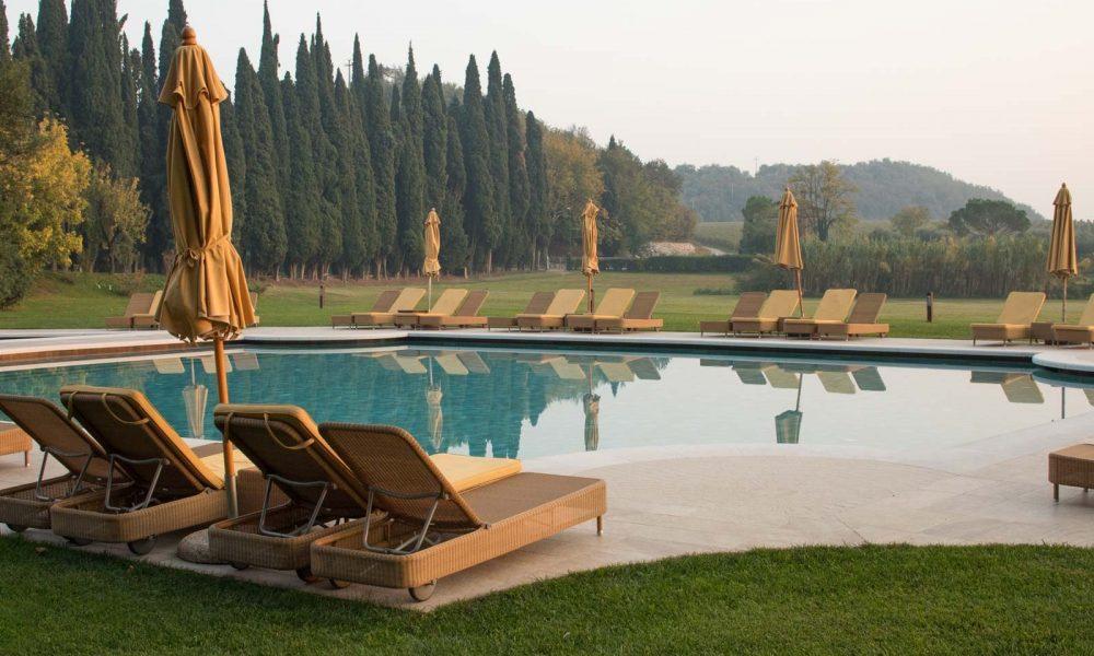 Villa Cordevigo pool, ©Kevin Day/Opening a Bottle
