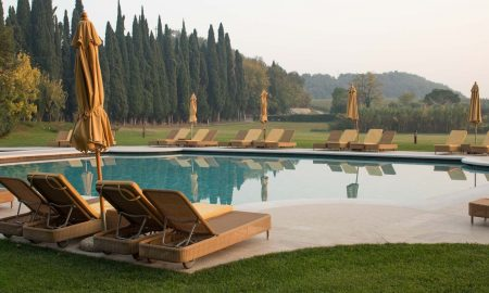 Villa Cordevigo pool, ©Kevin Day/Opening a Bottle