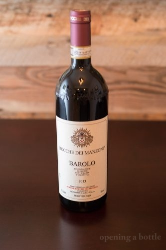 2013 Rocche dei Manzoni Barolo. ©Kevin Day/Opening a Bottle
