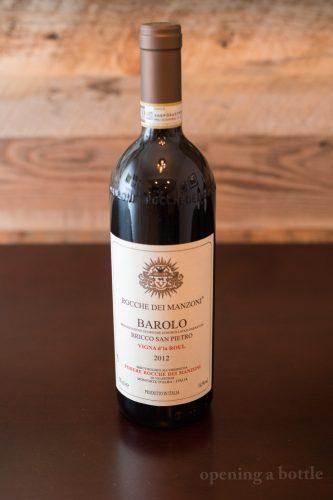 """2012 Rocche dei Manzoni Bricco San Pietro """"Vigna d'la Roul"""" Barolo ©Kevin Day/Opening a Bottle"""