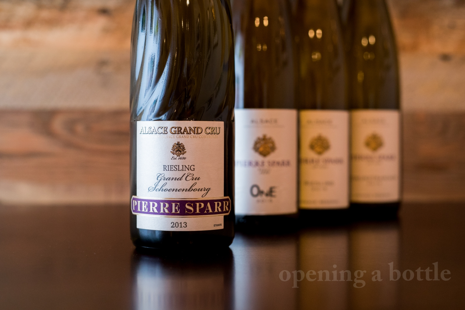 2013 Pierre Sparr Grand Cru Schoenenbourg Riesling. ©Kevin Day/Opening a Bottle