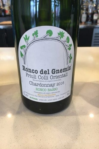 2016 Ronco del Gnemiz Friuli Colli Orientali Chardonnay ©Kevin Day/Opening a Bottle