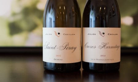 The wines of Cave Julien Cécillon. ©Kevin Day/Opening a Bottle