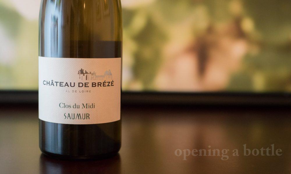 Château de Brézé Clos du Midi Saumur Blanc ©Kevin Day/Opening a Bottle