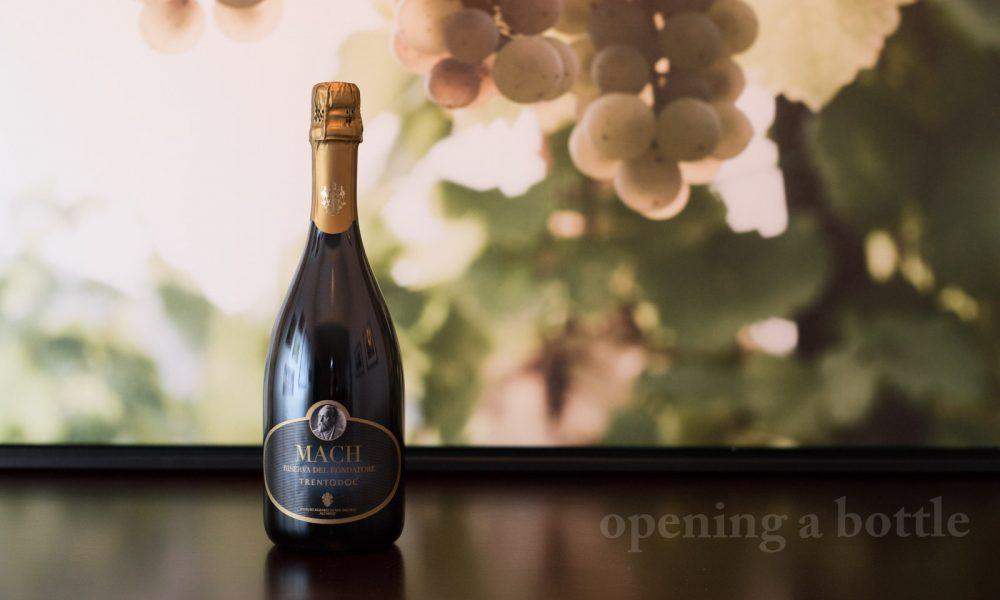 2012 Istituto Agrariodi San Michele all'Adige Mach Riserva del Fondatore Trento DOC ©Kevin Day/Opening a Bottle