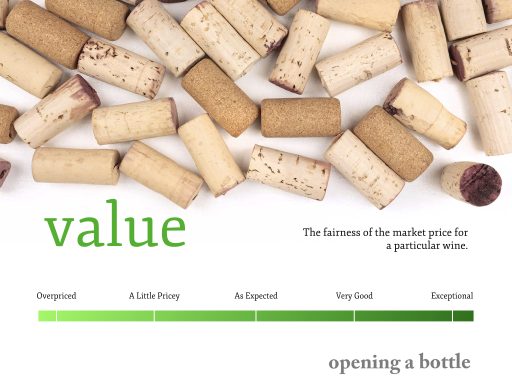 How I Rate Wine, Value, ©Kevin Day/Opening a Bottle