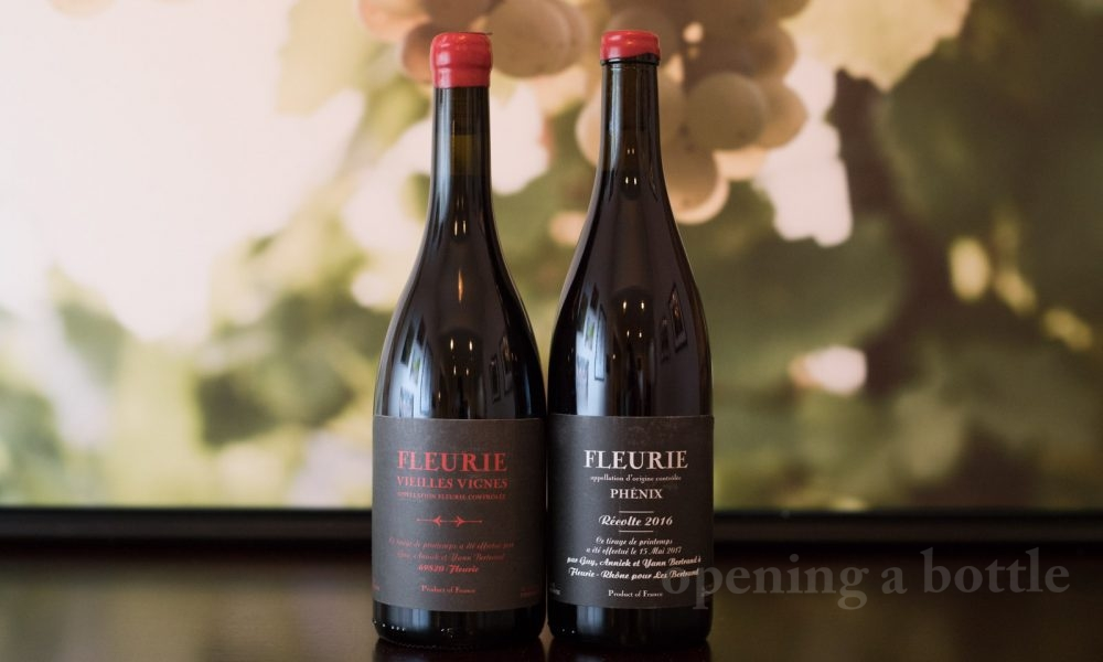The wines of Famille Bertrand ©Kevin Day/Opening a Bottle