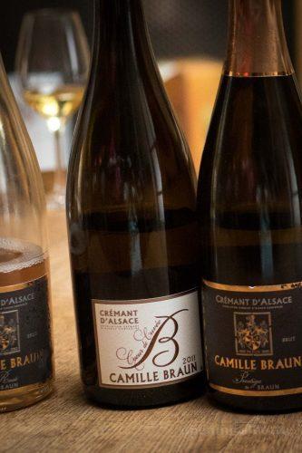 2011 Camille Braun Coeur de Cuvée Crémant d'Alsace ©Kevin Day/Opening a Bottle