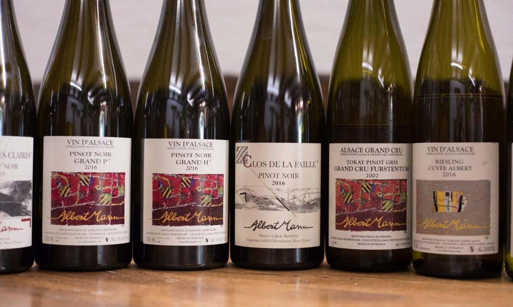 The Wines of Domaine Albert Mann in Alsace. ©Kevin Day/Opening a Bottle
