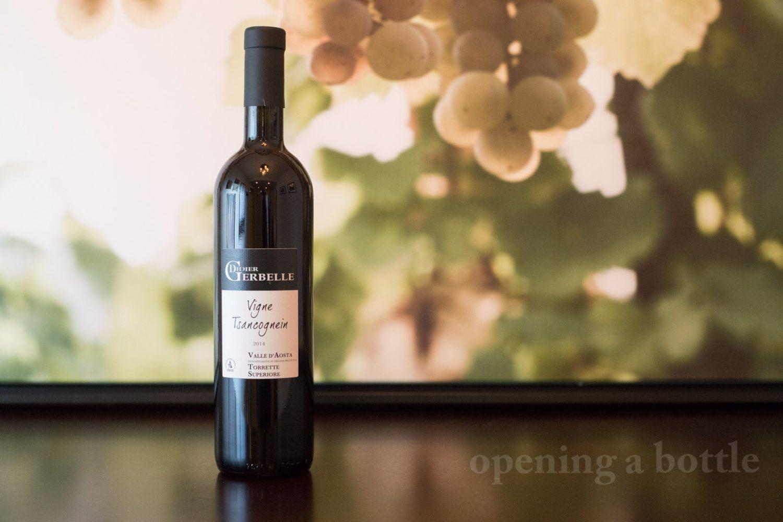 "2014 Didier Gerbelle ""Vigne Tsancognein"" Valle d'Aosta DOC Torrette ©Kevin Day/Opening a Bottle"