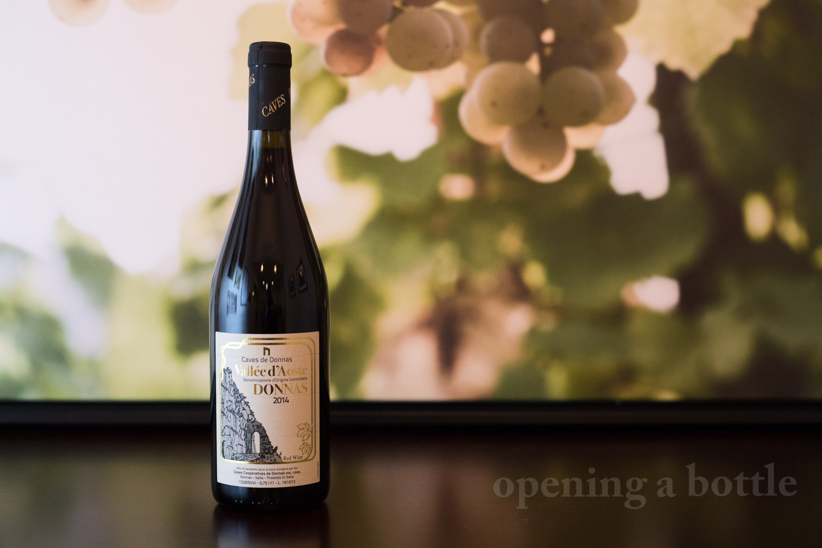 2014 Caves de Donnas Valle d'Aosta Donnas DOC ©Kevin Day/Opening a Bottle