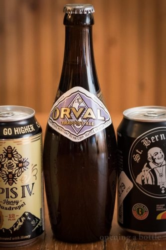 Orval Trappist Ale. ©Kevin Day/Opening a Bottle
