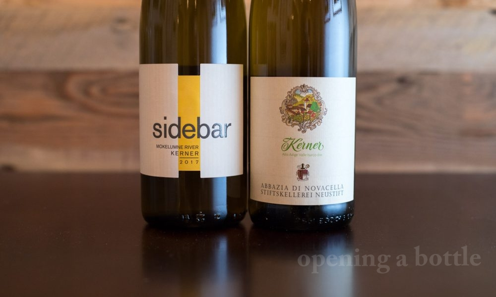 Sidebar Cellars Kerner and Abbazia di Novacella's Kerner ©Kevin Day/Opening a Bottle