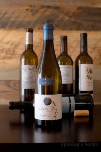"2011 Cal Batlett - Cellers Ripoll Sans Vi de la Vila ""D'Iatra"" Priorat ©Kevin Day/Opening a Bottle"