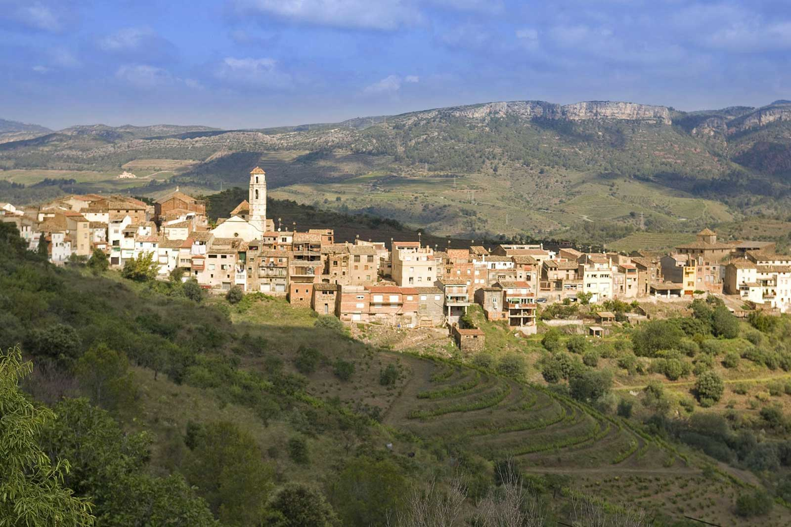 A village in the Priorat region of Catalunya. ©DOQ Priorat
