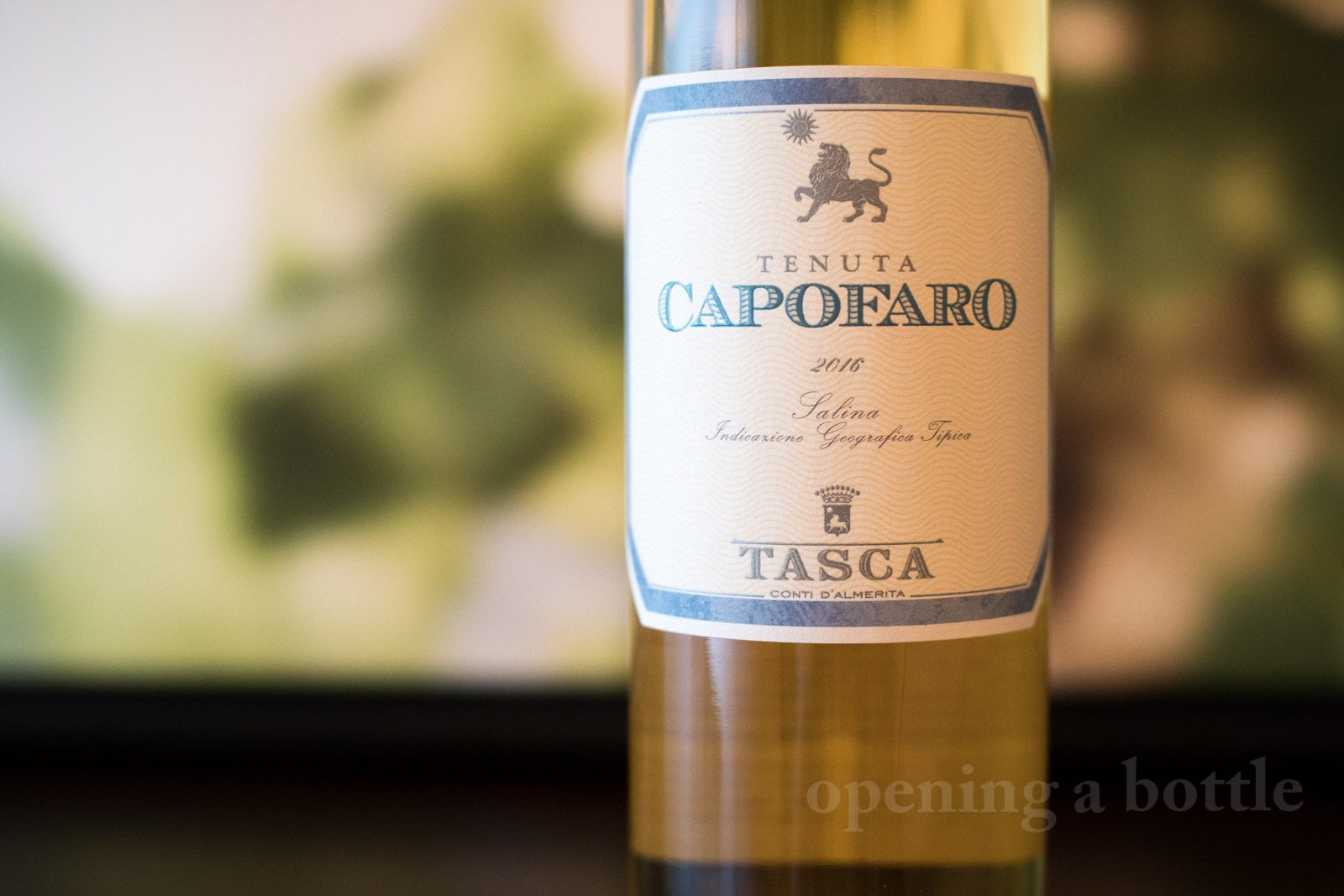 Capofaro Malvasia Salina IGT ©Kevin Day/Opening a Bottle
