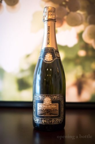 NV Monte Rossa Blanc de Blanc Franciacorta Brut ©Kevin Day/Opening a Bottle